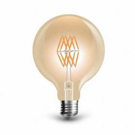 Lampada Globo LED Filamento Vintage Ambra 8W Е27 G95 2200K 800LM