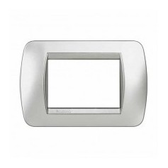 Placca Living International 3 moduli - Tech L4803TE