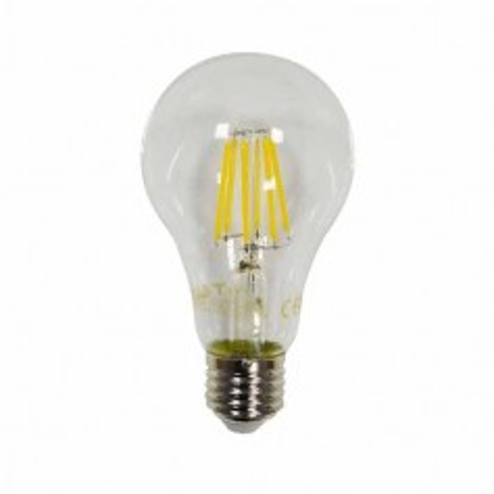 Lampadina LED 8W filamento E27 A67 luce bianco caldo 2700K