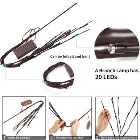 Lampadina LED 8W filamento E27 A67 luce bianco naturale 4500K