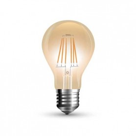 Lampada Bulb LED filamento Vintage Ambra 10W Е27 A67 2200K 900LM