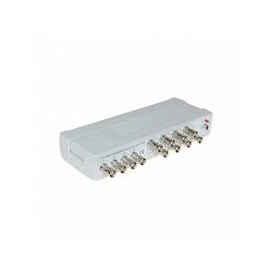 Sdoppiatore/Splitter Video 12V BNC 4IN - 8OUT