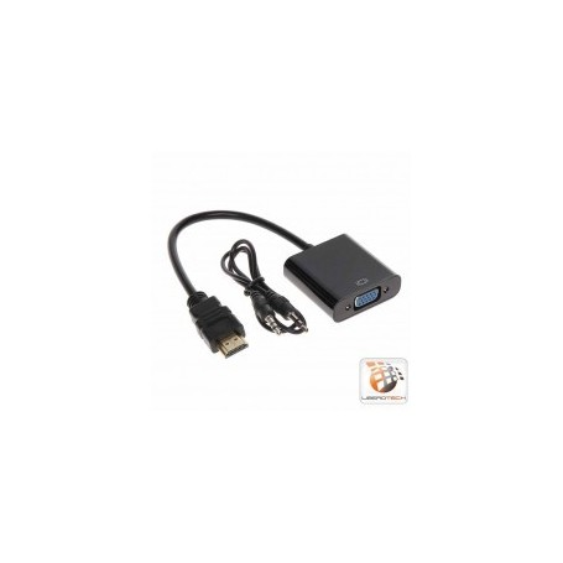 Convertitore HDMI in segnale VGA + 2CH Audio P2P