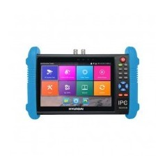 """CCTV Tester Professionale Multifunzione Hyundai Touch 7"""" LCD 5IN1 AHD/HDCVI/TVI/CVBS/IP - Test PoE/Ping/Wifi"""