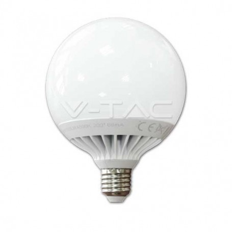 Lampadina globo LED 13W E27 G120 luce bianco freddo 6000K