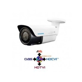 Telecamera Bullet 2.8-12mm HYUNDAI 4IN1 IBRIDA 2.0Mpx HD@1080p White IP66 LPS