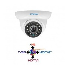 Telecamera Dome CCTV 2.8MM HYUNDAI 4IN1 IBRIDA 2Mpx HD@1080p White IP65 LPS HYU-324