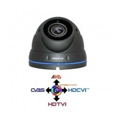 Telecamera Dome Metallica CCTV 2.8-12MM HYUNDAI 4IN1 IBRIDA 2Mpx HD@1080p Dark Grey IP65 LPS HYU-329