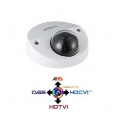 Telecamera Dome Antivandalica Starlight HDCVI IBRIDA 4IN1 1080p 2Mpx 2.8MM IP67 HAC-HDBW2231F