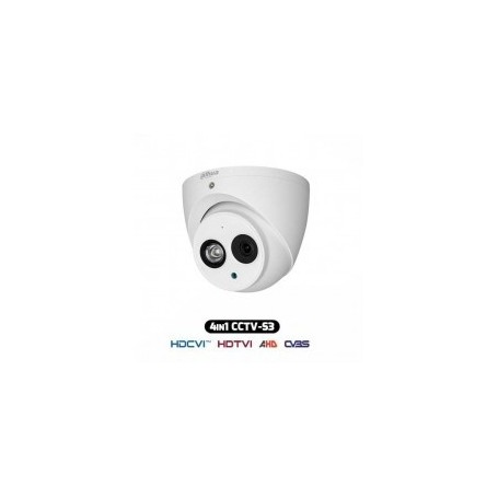 Telecamera Dome Antivandalica HDCVI IBRIDA 4IN1 1080p 2Mpx 3.6MM IP67 HAC-HDW1200EM-A-S3