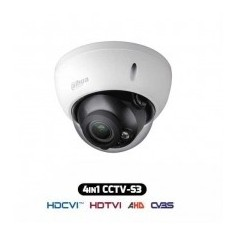 Telecamera Dome Antivandalica HDCVI IBRIDA 4IN1 1080p 2.1Mpx 2.8-12MM IP67 HAC-HDBW1200R-VF-S3