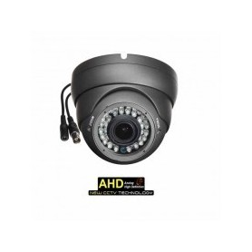 "Dome Camera AHD 720p CMOS 1/4"" 2.8-12mm 36LED IR CUT OSD Grey"