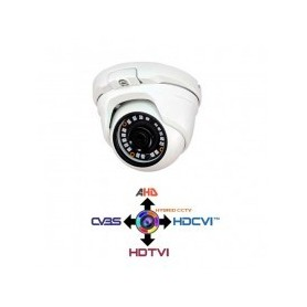 Dome Camera CCTV fissa 2.8mm 4IN1 IBRIDA 1.3Mpx HD@720p