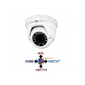 Dome Camera CCTV Varifocal 2.8-12mm 4IN1 IBRIDA 1.3Mpx HD@720p