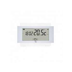 Cronotermostato touch screen da parete 230V Bianco Bpt TH/500 WH 230