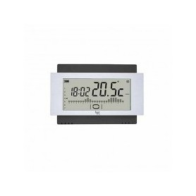 Cronotermostato touch screen da parete 230V Nero Bpt TH/500 BK 230