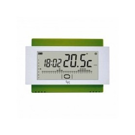 Cronotermostato touch screen da parete Batteria Verde Bpt TH/500 GN