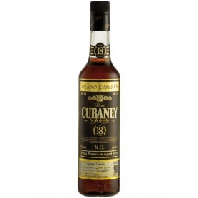 RHUM CUBANEY 18 ANOS CL.70