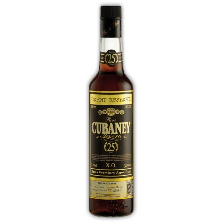 RHUM CUBANEY 25 ANOS X.O. CL.70