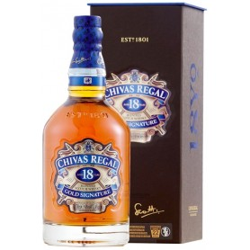 WHISKEY CHIVAS REGAL 18 ANNI CL.70