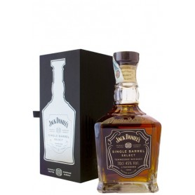WHISKEY JACK DANIEL'S SINGLE BARREL CL.70
