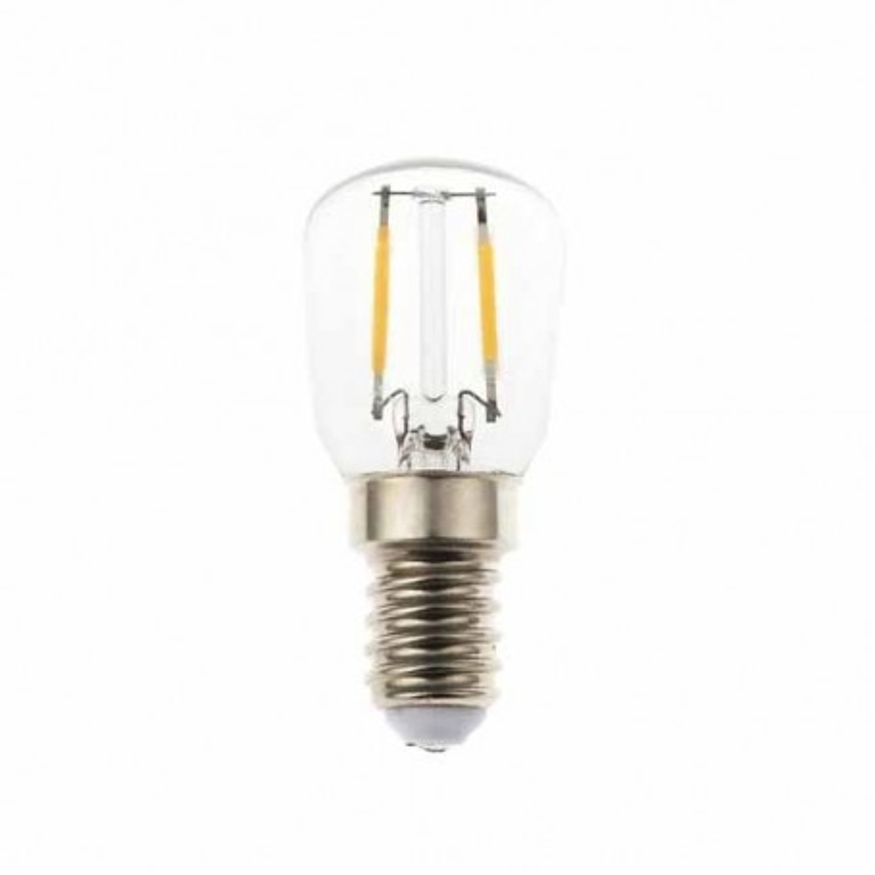 Lampadina LED Vetro filamento 2W E14 ST26 4500K 300° 180LM