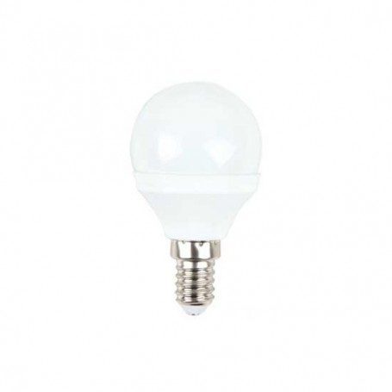Lampadina LED SMD Mini globo P45 3W E14 180° 250LM 2700K A+