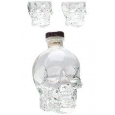 Vodka Crystal Head 70cl + 2 Bicchierini