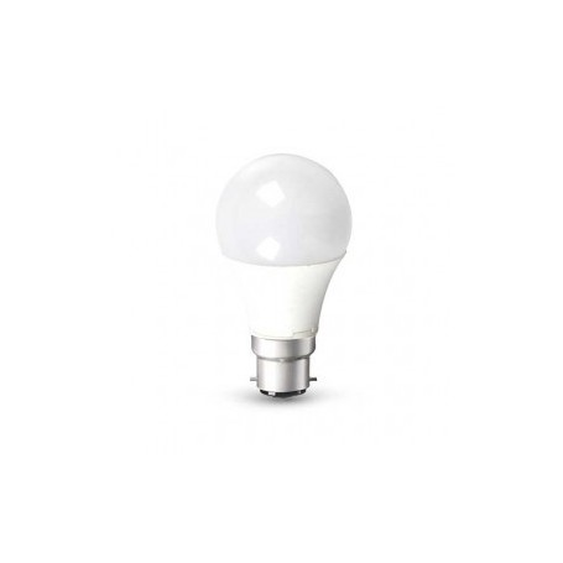 LAMPADINA LED SMD ATTACCO BAIONETTA B22 A60 200° 806LM 10W MOD. VT-1853B