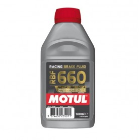 Motul RBF 660 Olio Liquido freni Racing DOT4 500ml Synt 100% Brake Fluid moto