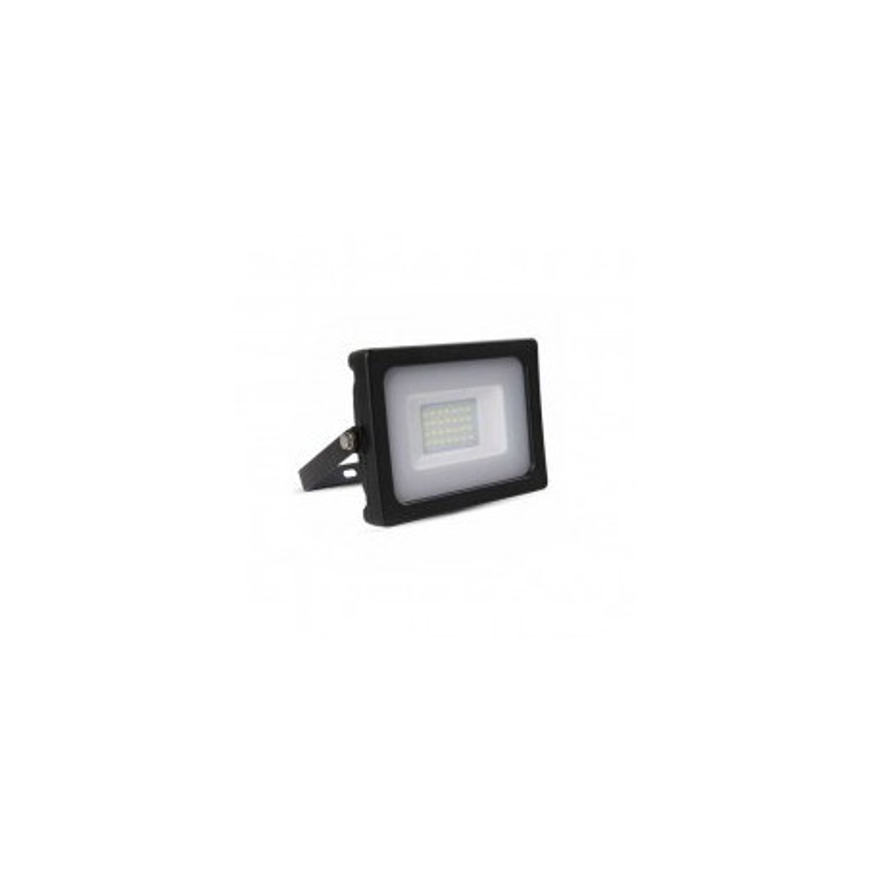 FARO LED SLIM NERO 20W 100° 1600LM IP65 SMD A+ MOD. VT-4922B