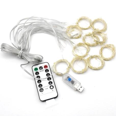 Faro LED SLIM 30W 90° 2400LM Alluminio grigio lucido IP65 Mod. VT-4734