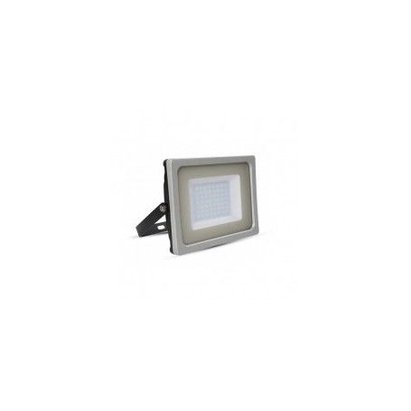 Faro LED SLIM G&B Lucido 50W 100° 4250LM IP65 SMD A+ Mod. VT-4955G&