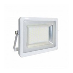 Faro LED SLIM 100W Bianco IP65 SMD Mod. VT-48100-1