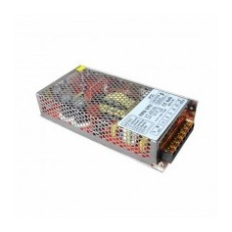 Alimentatore in metallo 120W 12V 10A IP20 per strisce a LED 3054