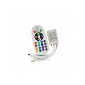Controller infrarosso IR striscia LED RGB con telecomando 24 tasti