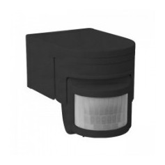 Sensore di movimento 160° Nero IP44 SLICK JQ-L-B Mod.08391