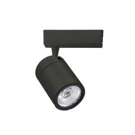 Lampada LED COB da binario 4 Poli 35W 6400K 3200LM 24° A+ Black 1287