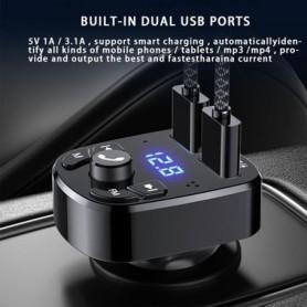 Connettore a T nero a 2 poli