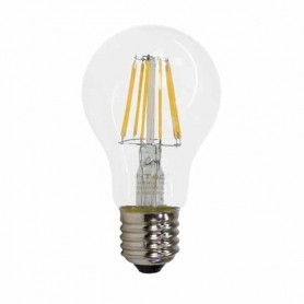Lampadina LED 4W filamento E27 A60 300° 2700K - Dimmable