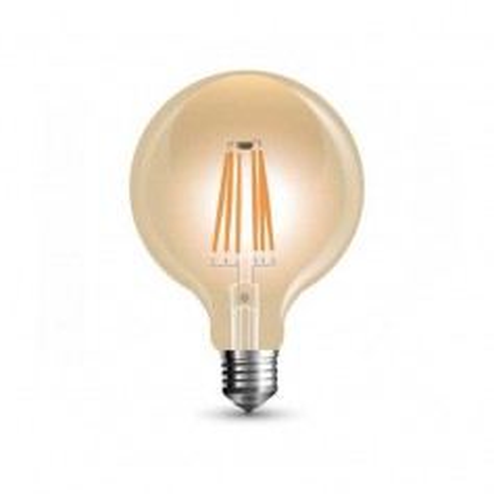Lampada Globo LED filamento Vintage Ambra 6W Е27 G125 2200K