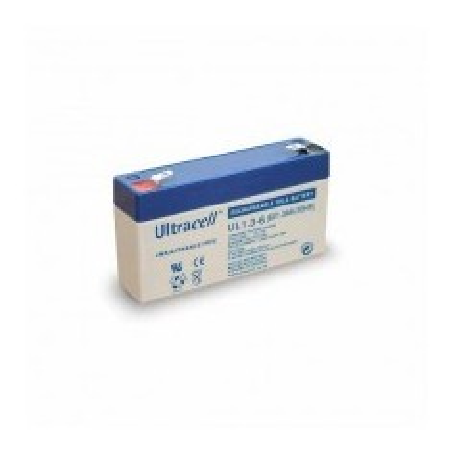 Batteria ricaricabile al piombo 6V 1.3Ah Ultracell Europea