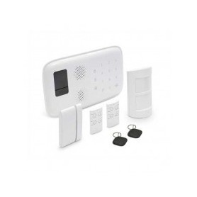 KIT allarme Wireless Touch Notifiche SMS / Call / App Smartphone + Accessori GSM WIZALARM